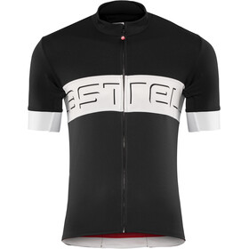 Castelli Prologo VI Maillot manches courtes Homme, black/ivory/dark gray